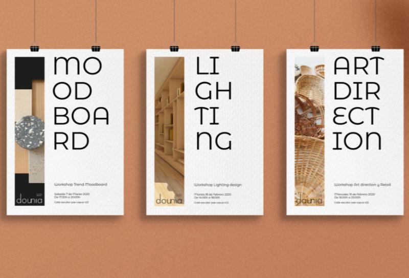 Dounia. Linving Design. proyecto final de Máster de Dounia Slaoui